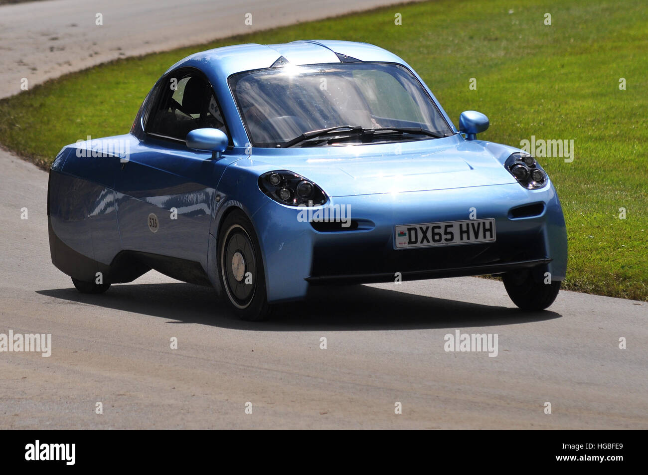 Riversimple revealed their 250 mpg hydrogen-powered car for the masses, called Rasa.The name Rasa comes from Tabula - Stock Image