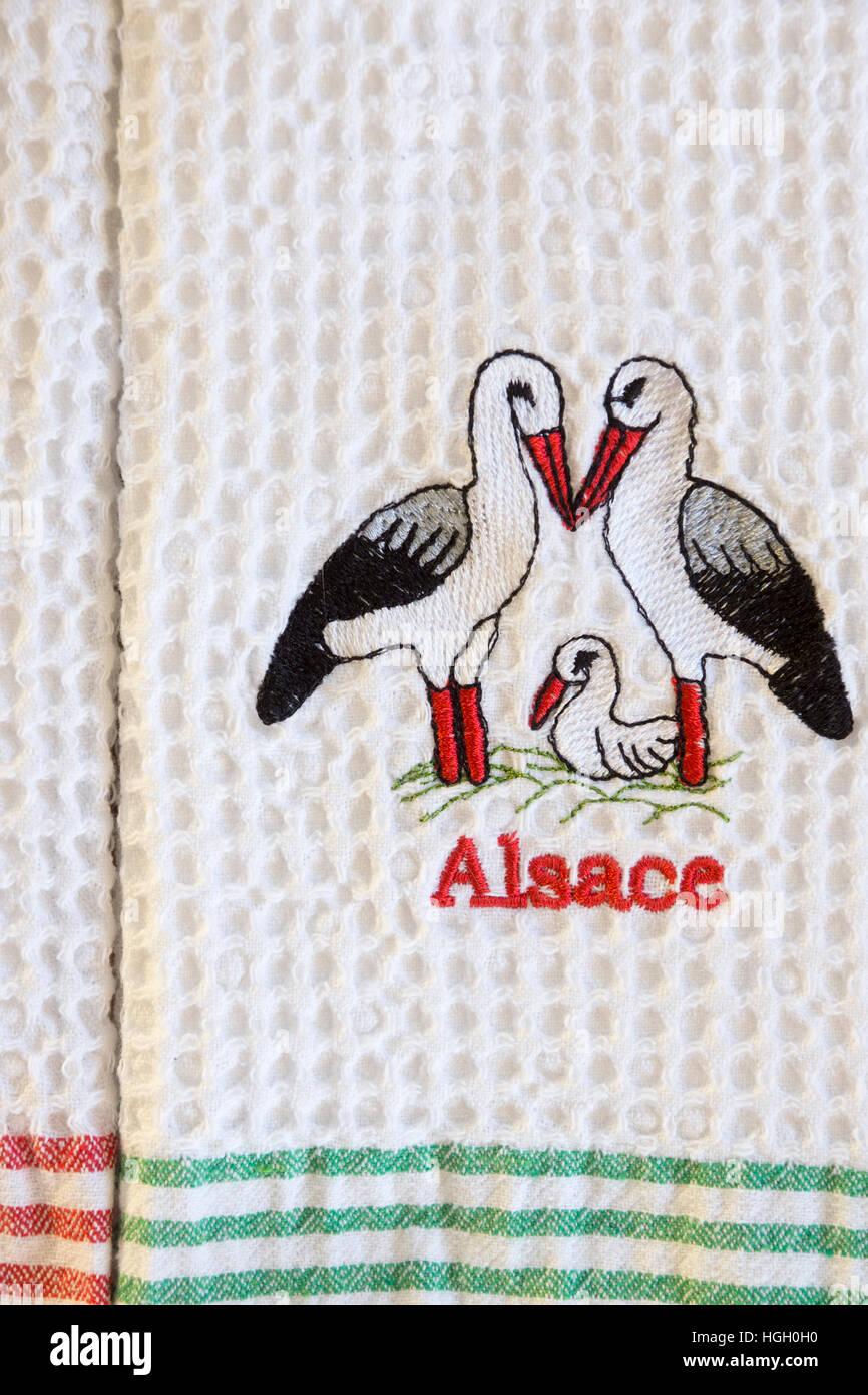 alsatian-storks-on-a-tea-towel-from-stra