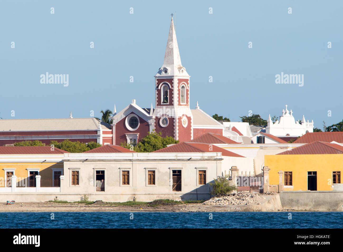 Mozambique Island (Ilha de Mocambique), Mozambique - Stock Image