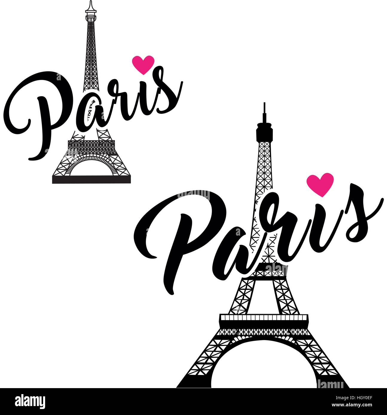 Vector eiffel tower set simple graphic design for paris stock vector eiffel tower set simple graphic design for paris thecheapjerseys Gallery