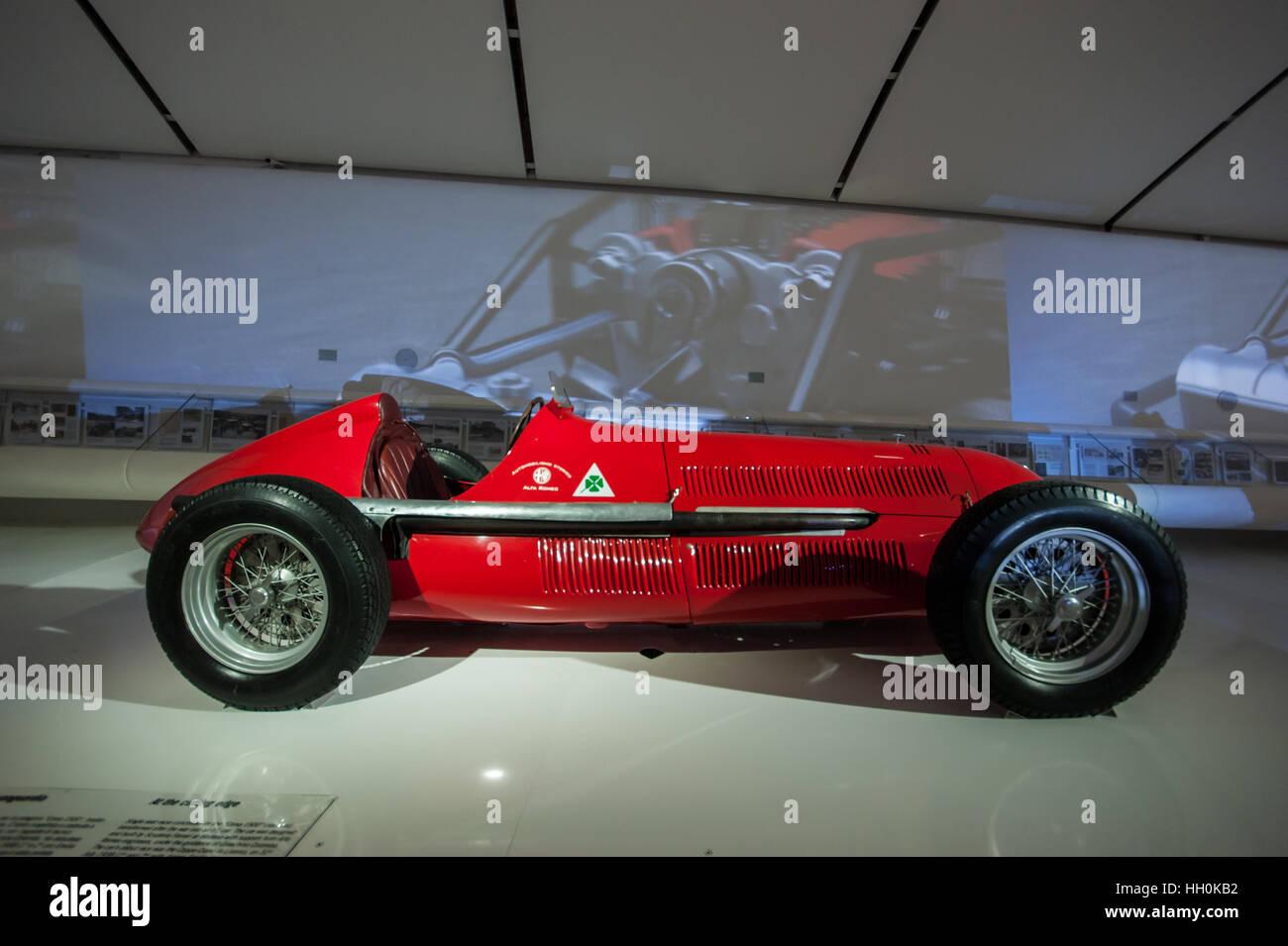 Alfa Romeo Racing Car Stock Photos & Alfa Romeo Racing Car Stock Images - Alamy