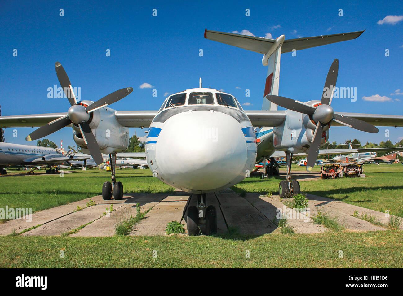 Plane Antonov An-24 - Stock Image