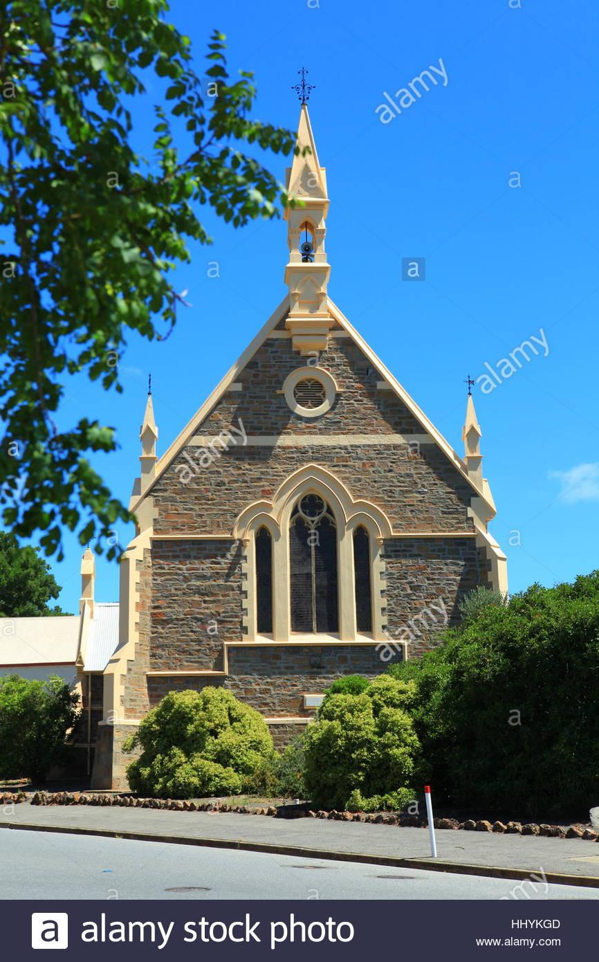 Angaston Uniting Church Barossa Valley South Australia January 2017 - Stock Image
