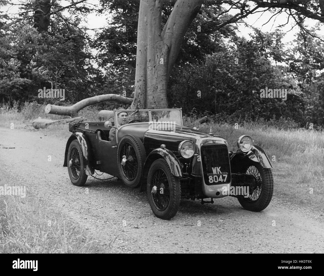 1928 Alvis 12-75 fwd - Stock Image