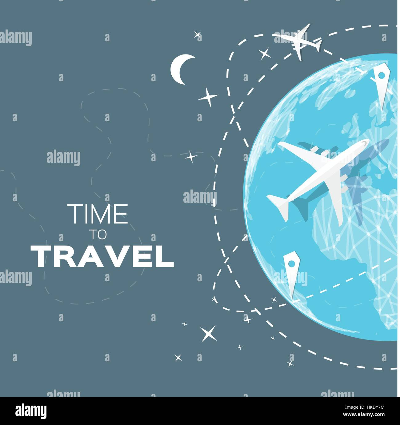 Travel world map background in polygonal style with top view stock travel world map background in polygonal style with top view airplane vector illustration design gumiabroncs Images