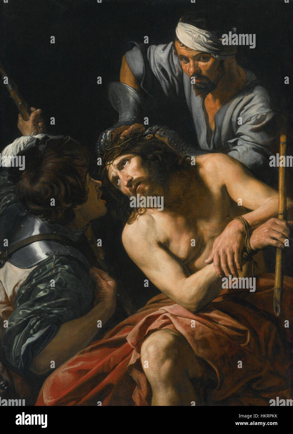 Coronazione di spine - Valentin de Boulogne - Stock Image
