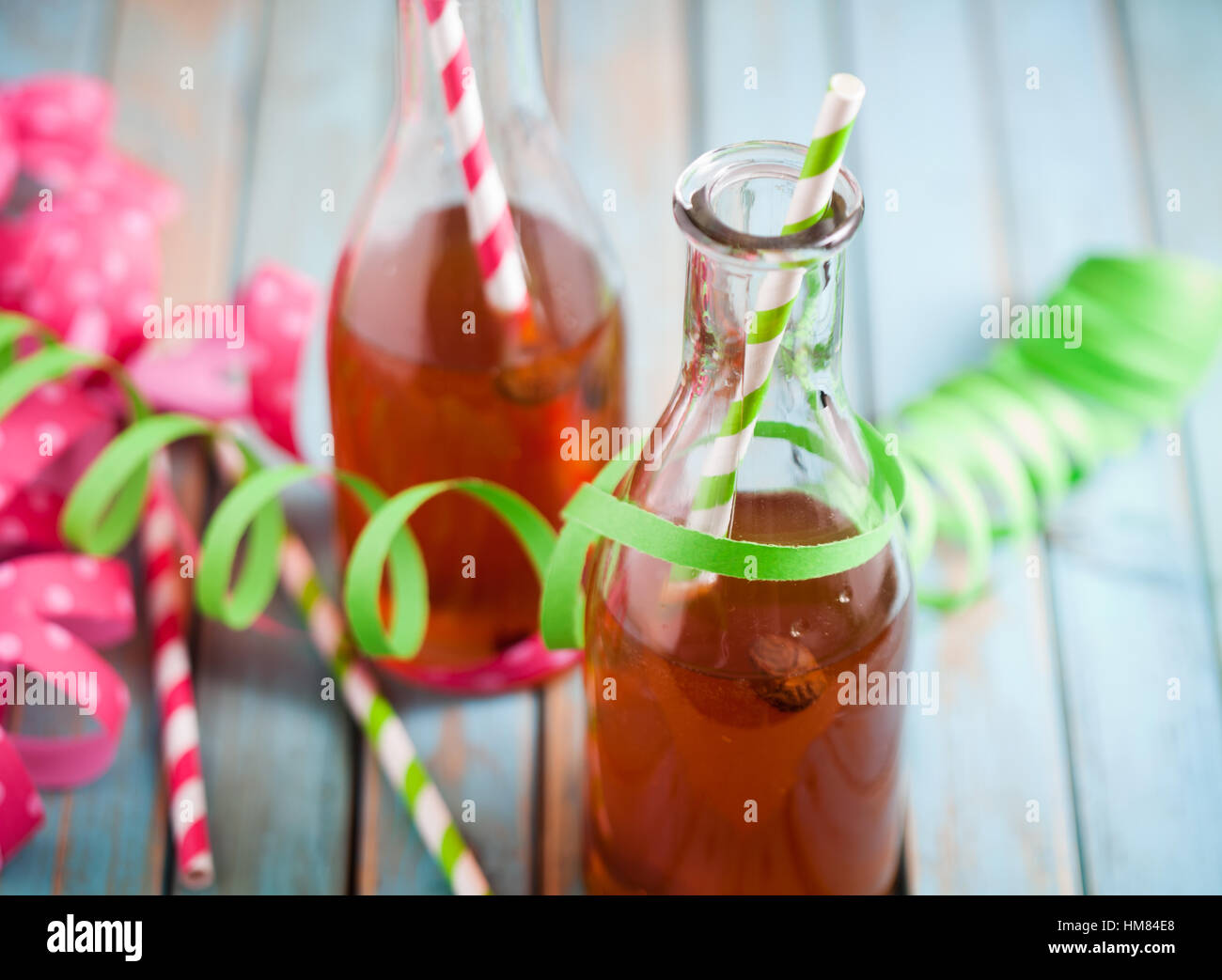 Vappusima, drink for finnish celebration of May 1st - Stock Image