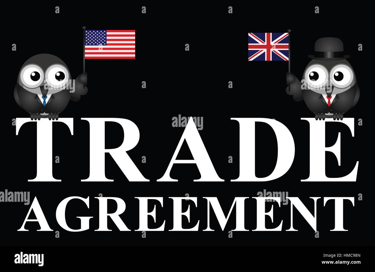 Representation Of Usa Uk Transatlantic Trade Agreement Negotiations