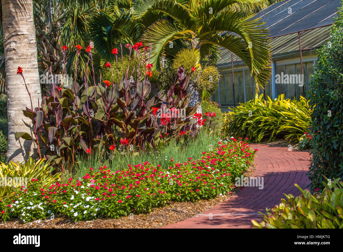 Marie Selby Botanical Gardens in Sarasota Florida Stock Photo ...