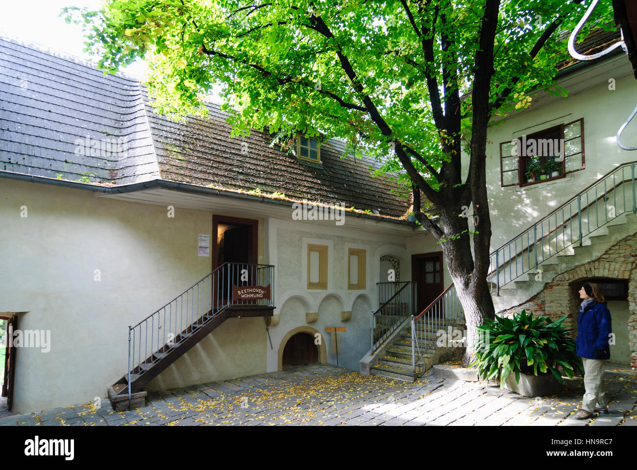 Wien, Vienna, Heiligenstadt Testament House: here lived Beethoven in 1802 and wrote a letter about his beginning Stock Photo