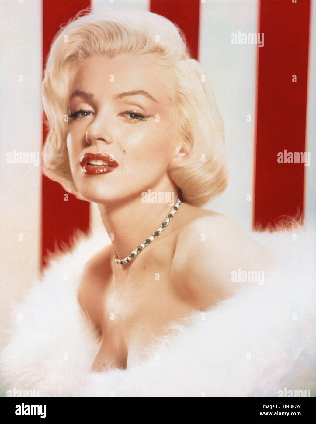 MARILYN MONROE  01 January 1955 - Stock Image