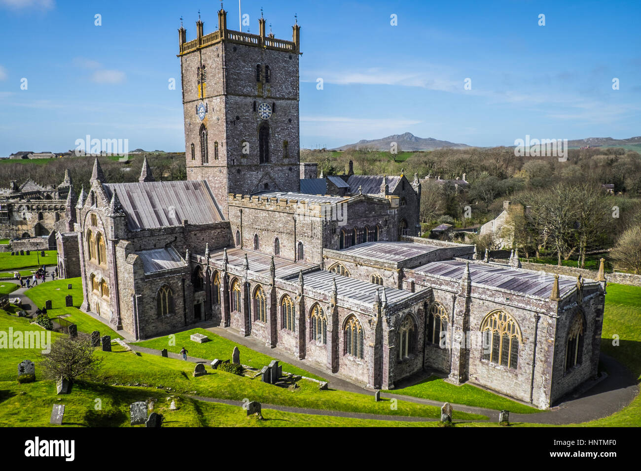 St David's Cathedral - Stock Image