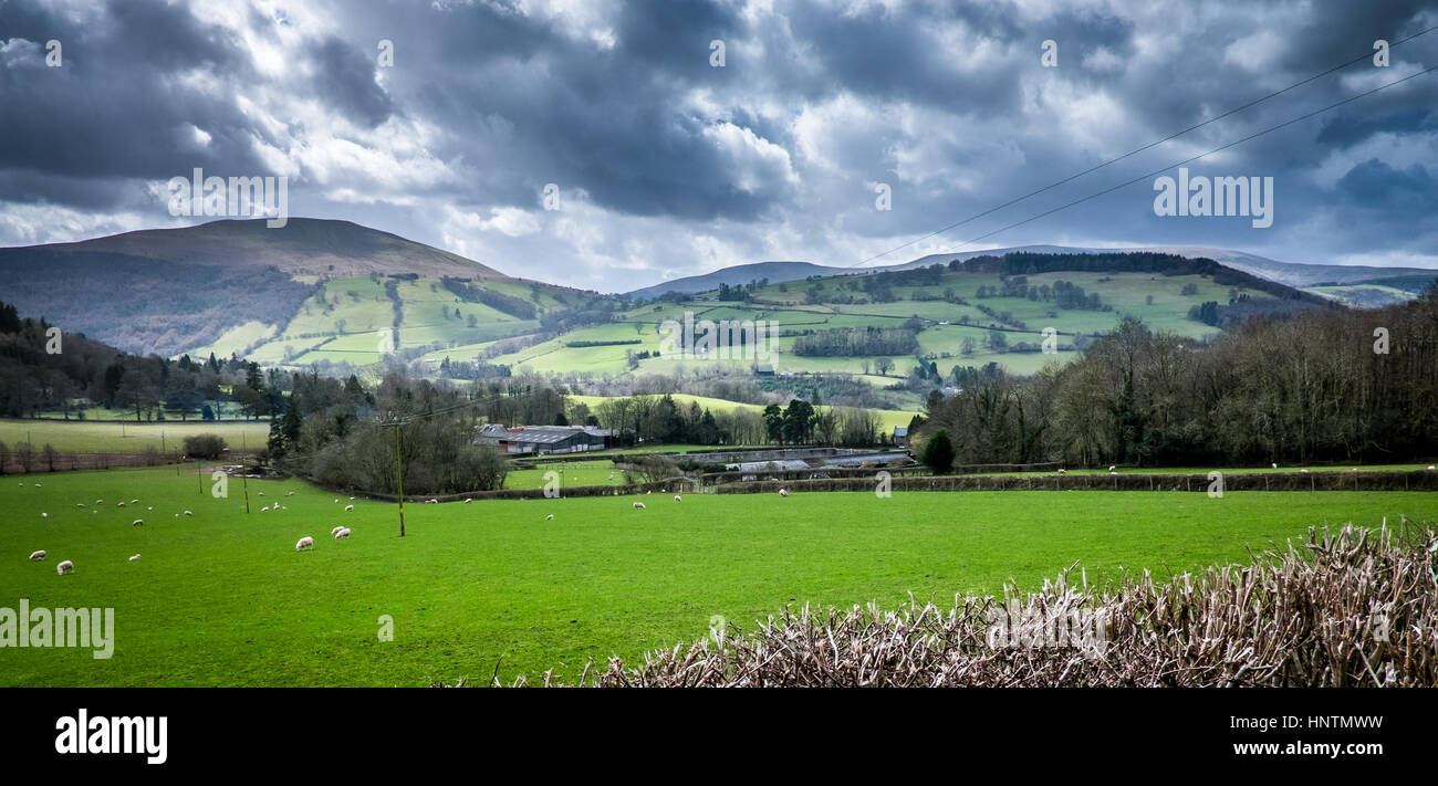 Brecon Beacons - Stock Image