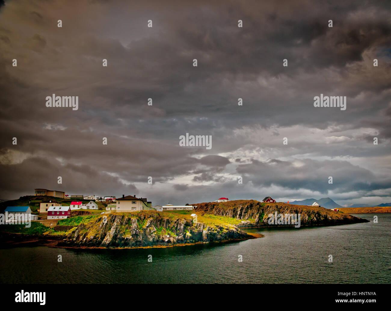 Natural Iceland landscapes - Stock Image