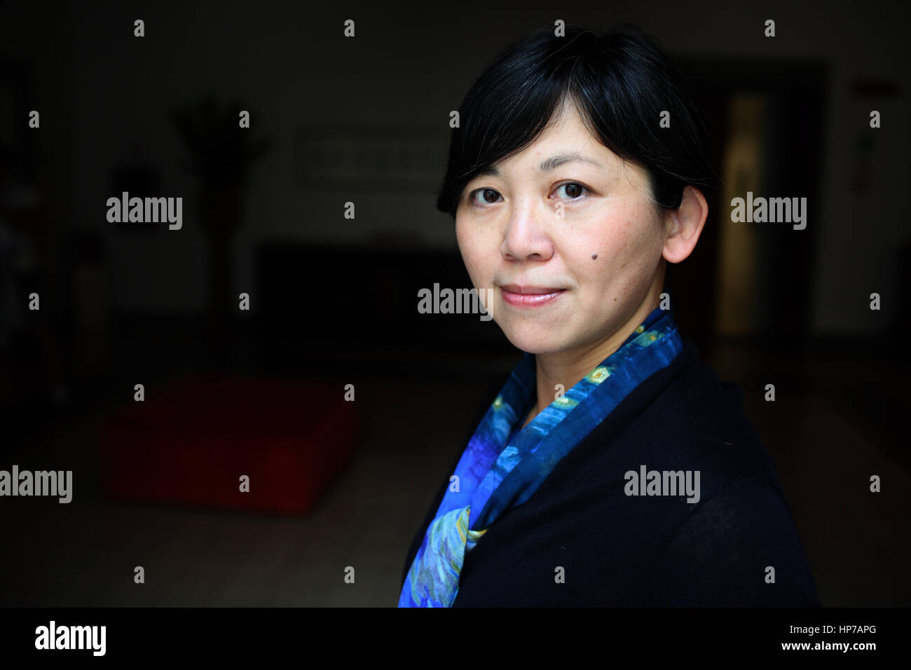 Portrait of Yiyun Li 06/06/2016 ©Basso CANNARSA/Opale Stock Photo