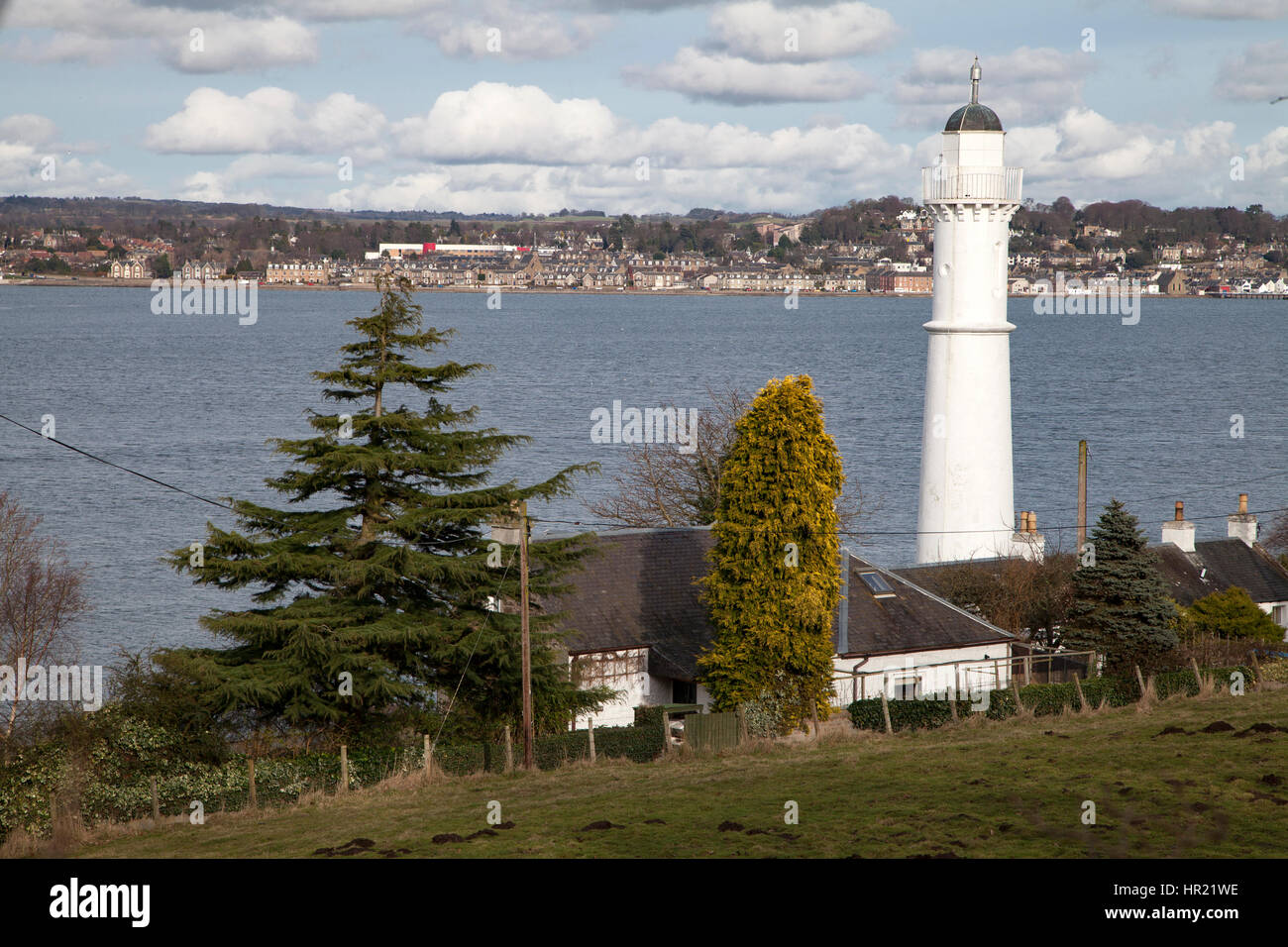 The High Light at Tayport in Fife, Scotland Stock Photo