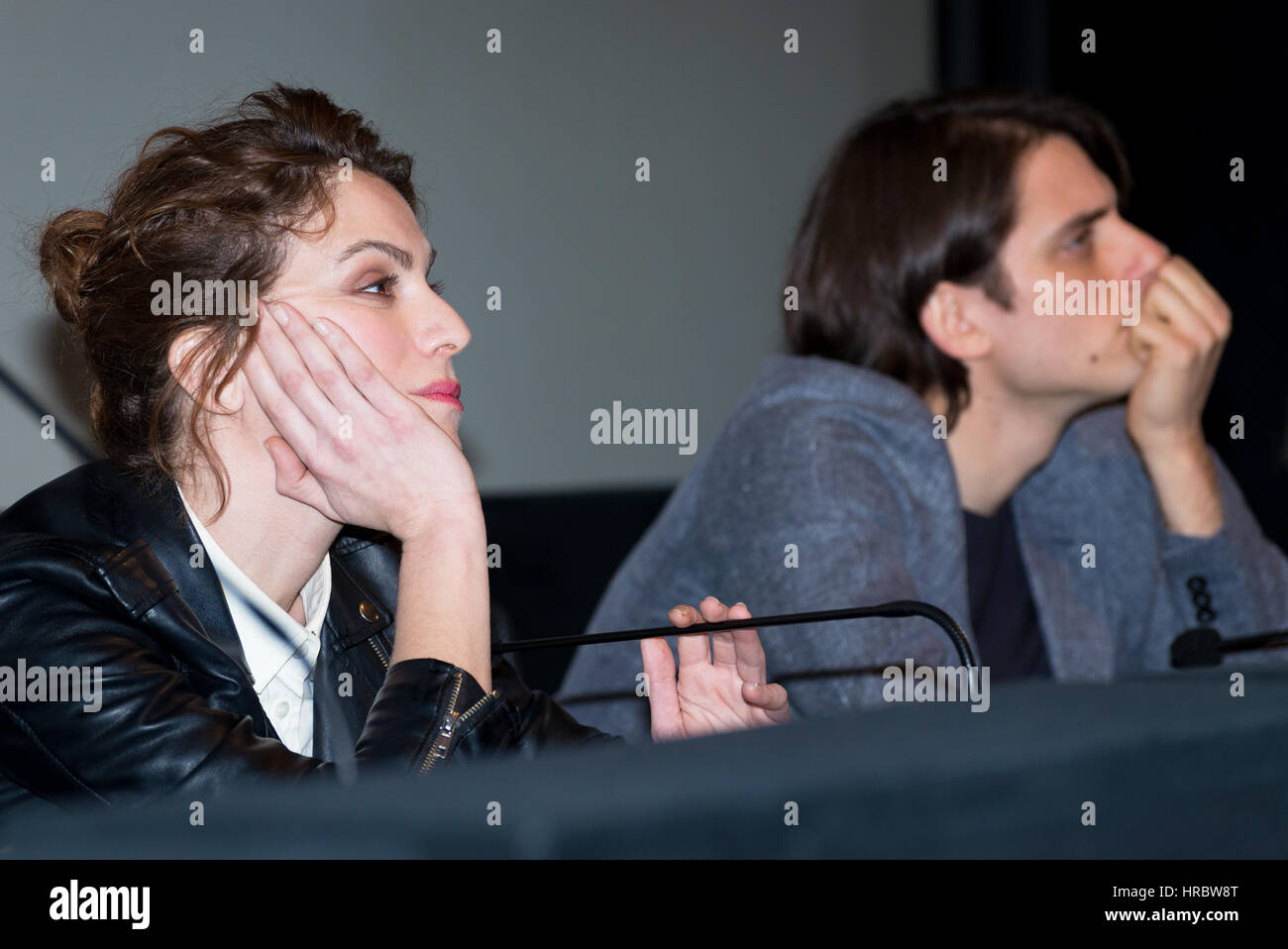 Rome, Italy. 28th Feb, 2017. Isabella Ragonese, attends the photocall of 'Il padre d'Italia' Credit: - Stock Image