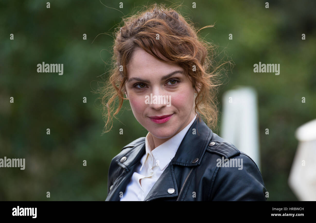 Rome, Italy. 28th Feb, 2017. Isabella Ragonese attends the photocall of 'Il padre d'Italia' Credit: - Stock Image