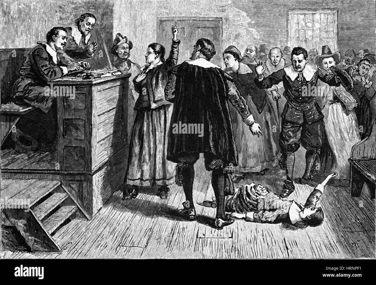 an analysis of people debating on a justifiable answer to the start of the salem witch trails 1 a crucible is defined as a severe test write an essay discussing the significance of the title what is the crucible within the play and how does it bring about change or reveal an individual's true character.