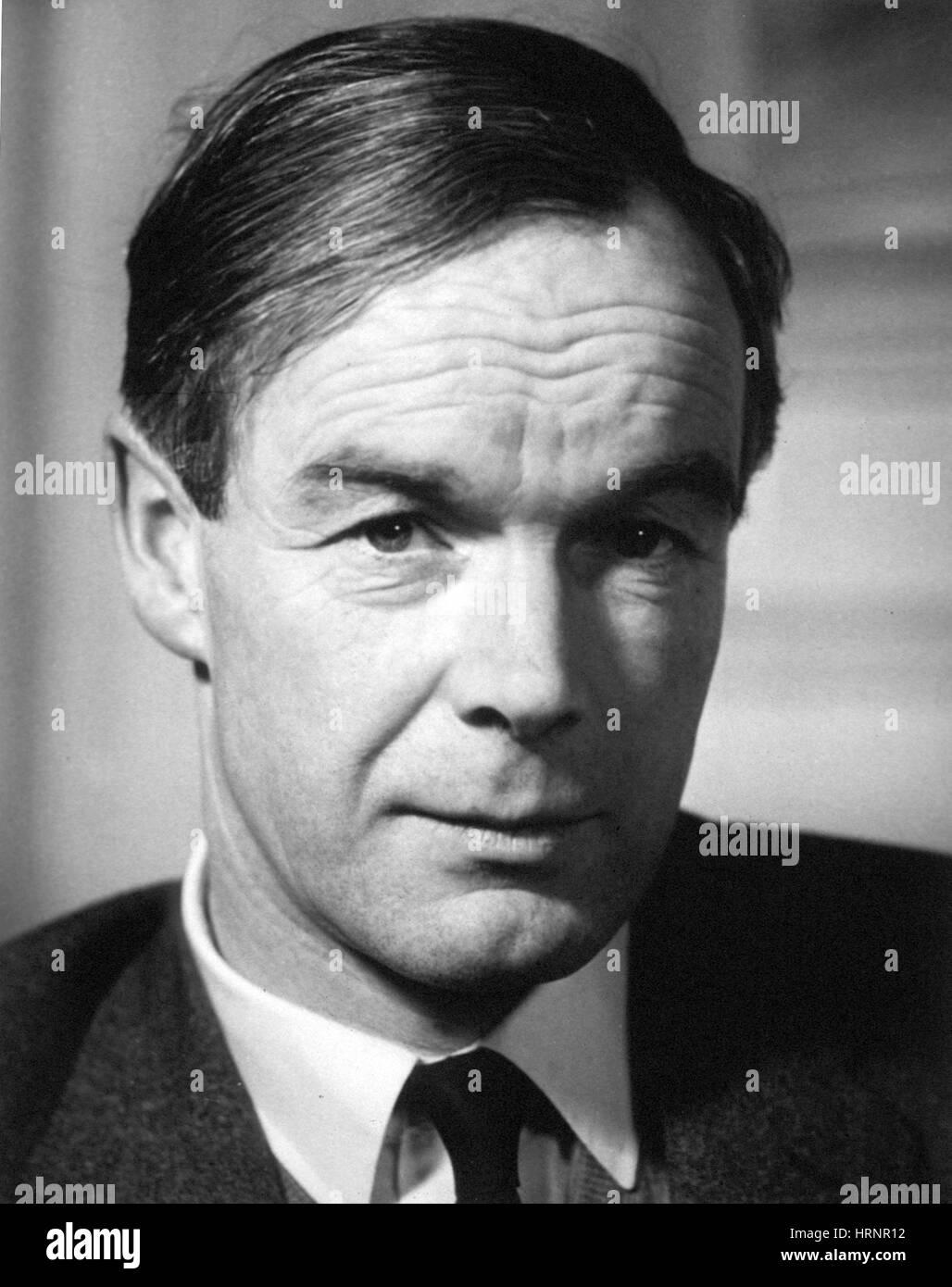 Alan Lloyd Hodgkin, English Physiologist and Biophysicist - Stock Image