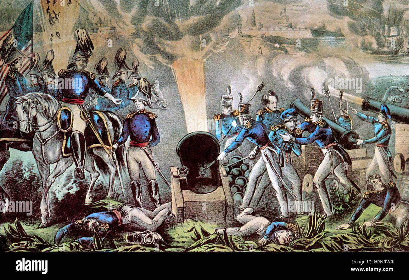 Mexican-American War, Siege of Veracruz, 1847