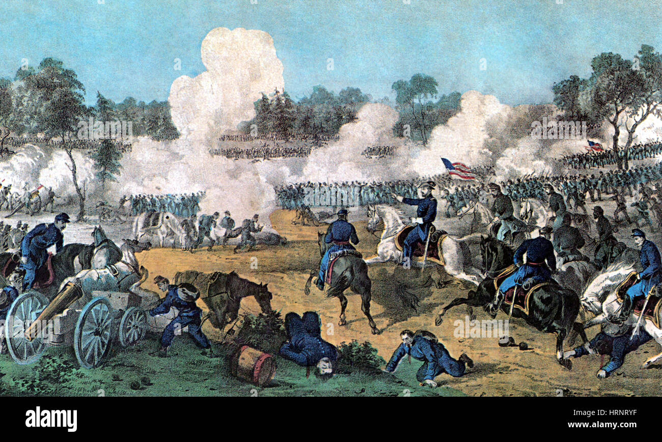 American Civil War, Battle of the Wilderness, 1864