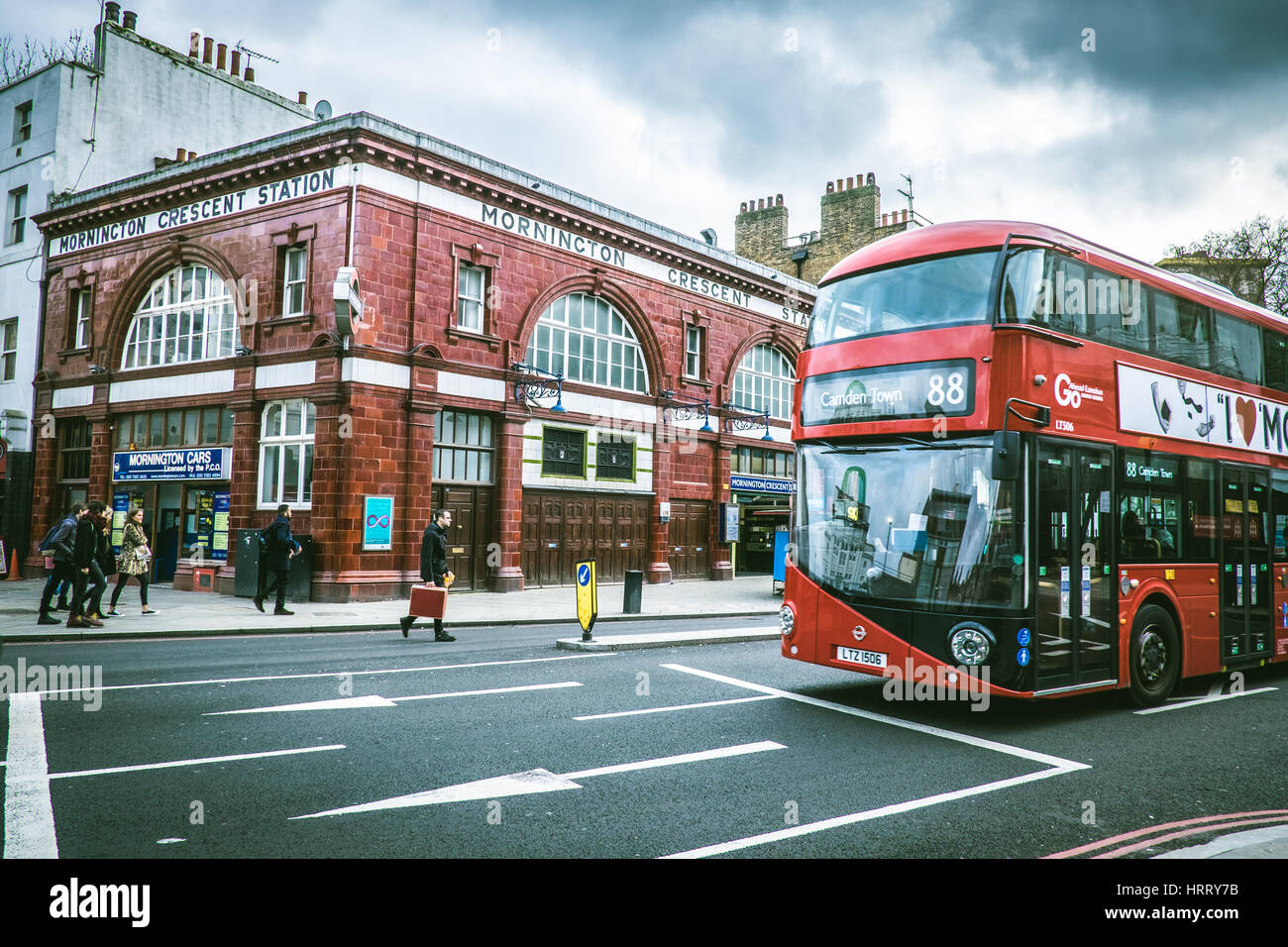 London Bus - Stock Image