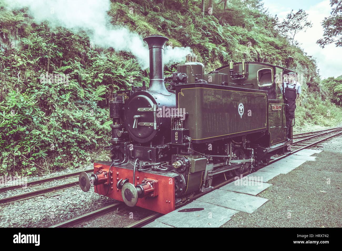Heritage Train Life - Stock Image