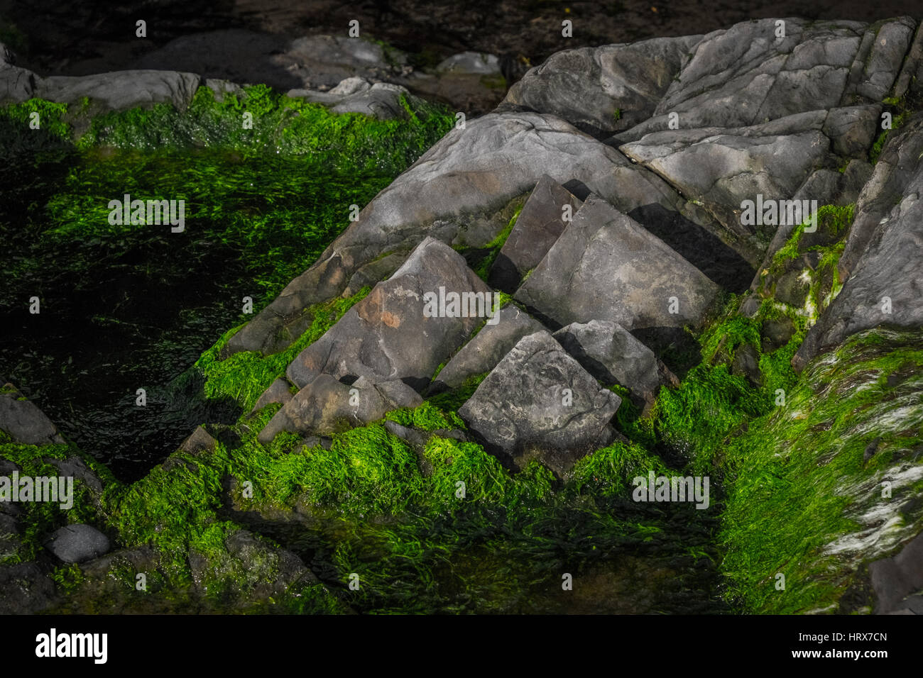 Rock formations - Stock Image