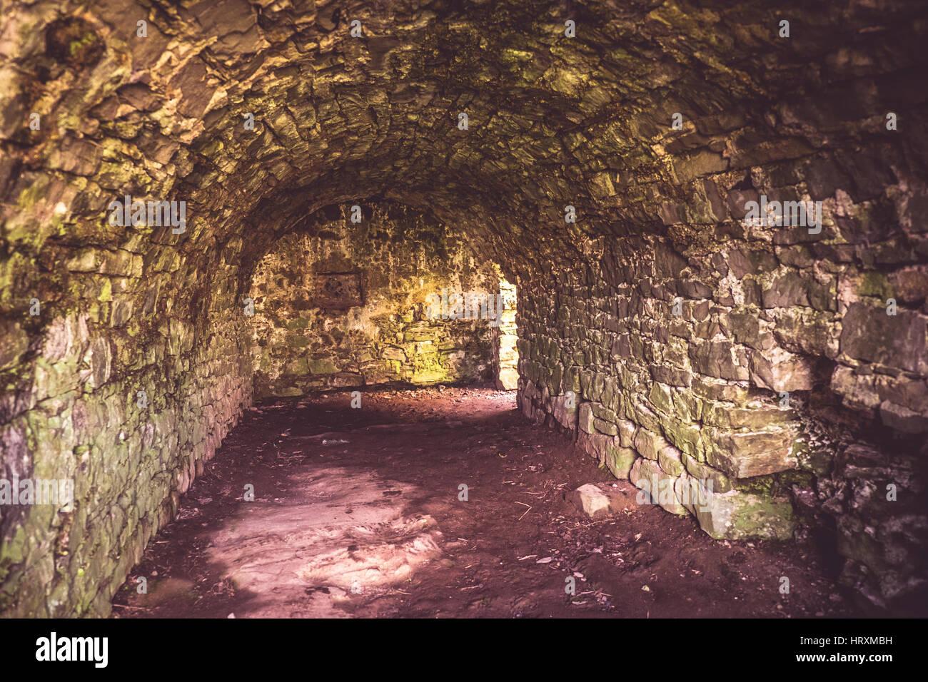 Castle interiors - Stock Image