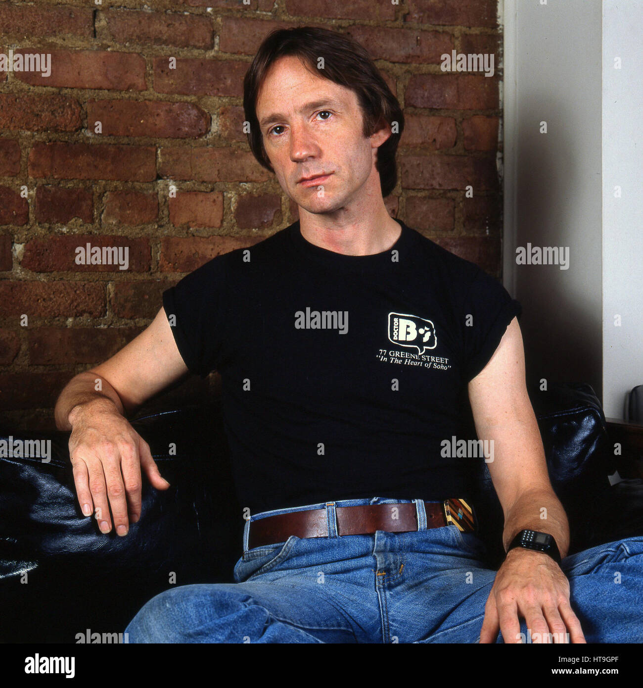 Peter Tork of the TV show The Monkees 1984 Photo Session in New York City Stock Photo