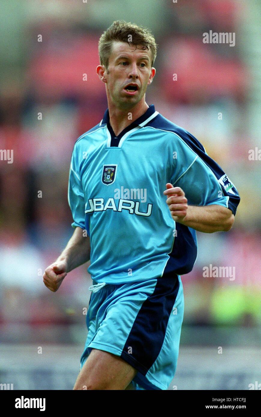 STEVE FROGGATT COVENTRY CITY FC 29 August 1999 - Stock Image