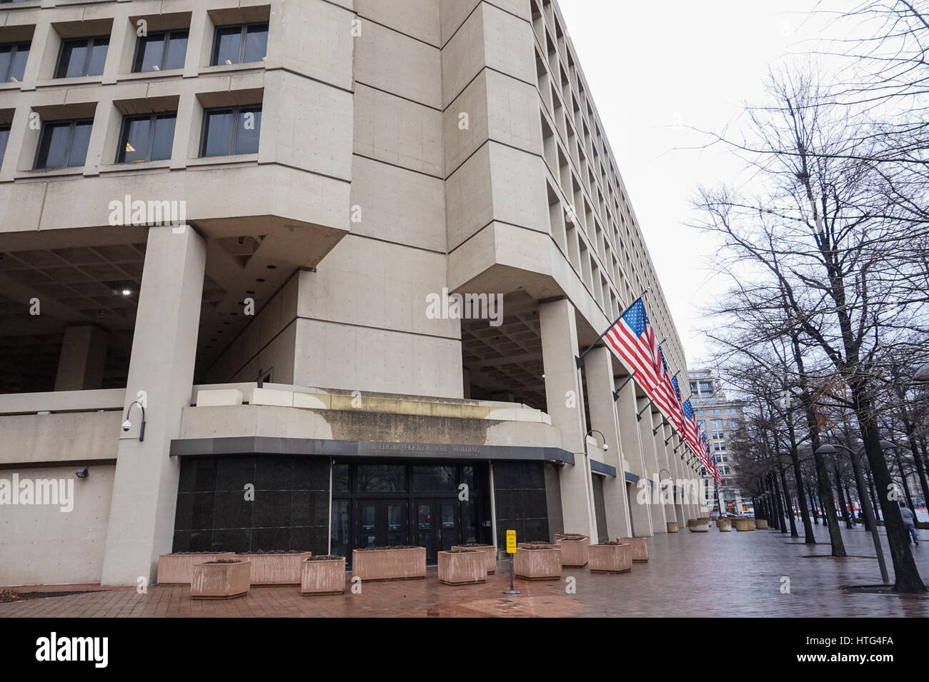 The headquarters of the federal bureau of investigation fbi in