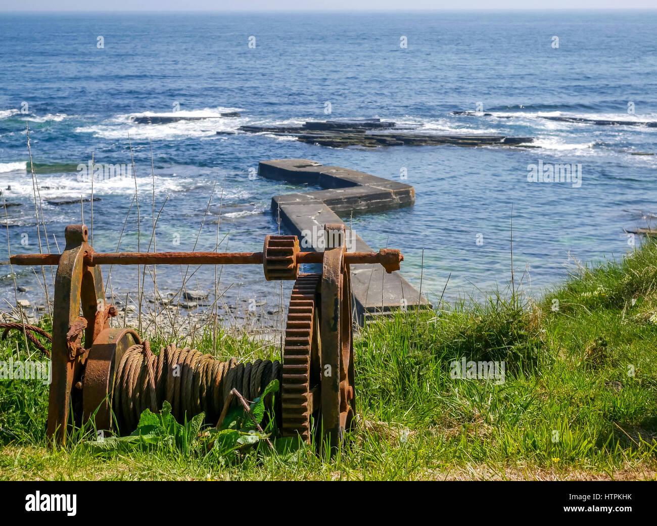 rusty-winch-on-cliff-top-northeast-scotl