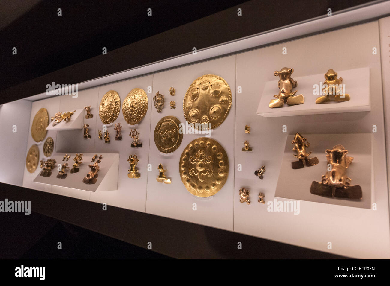 Pre-Columbian Gold Museum, San José, Costa Rica Stock Photo