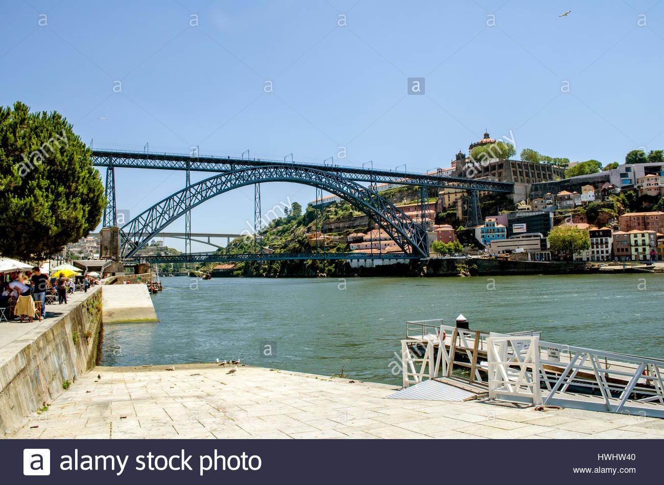 Beautiful city of Porto, in Portugal - Stock Image