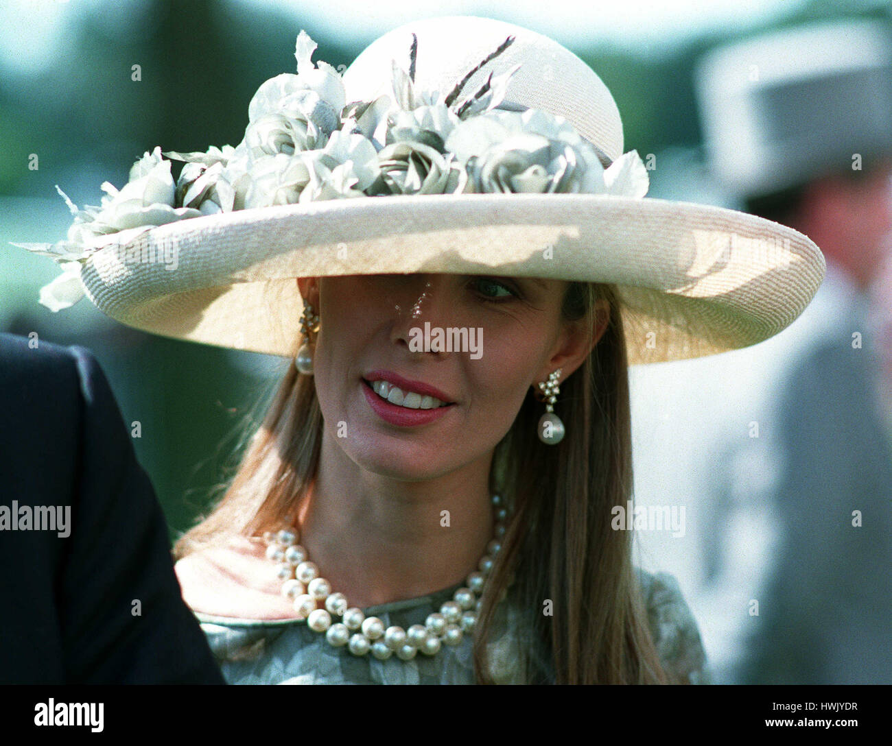 SUSAN SANGSTER WIFE OF ROBERT SANGSTER 30 June 1993 Stock Photo