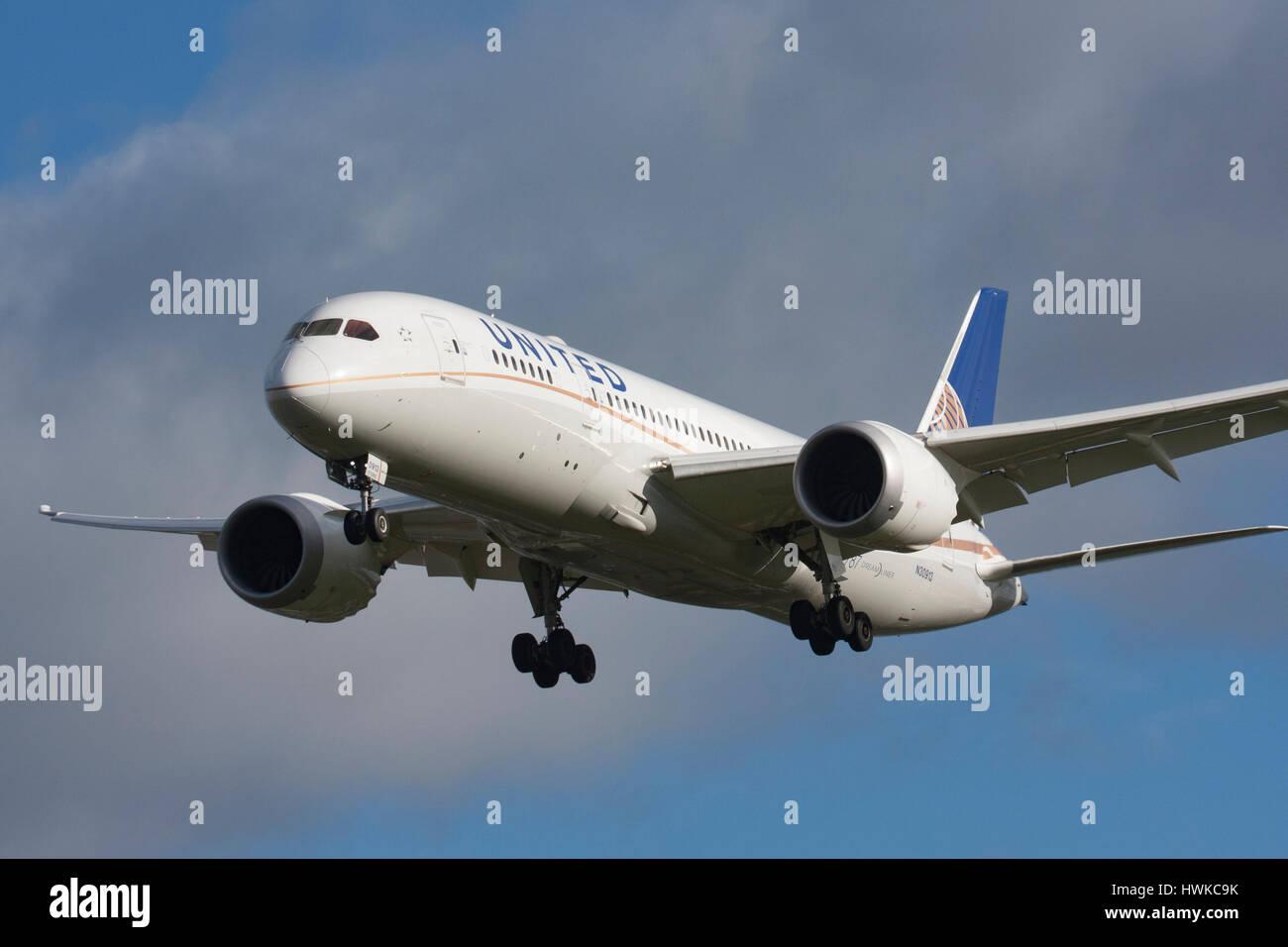 at London Heathrow Airport, UK - Stock Image