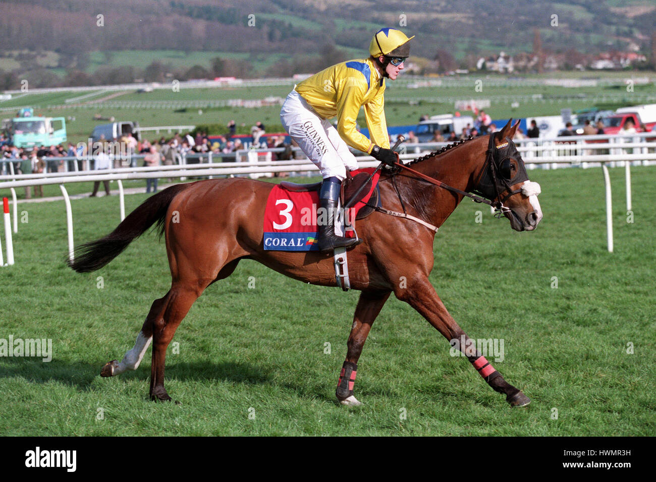 ARCHIVE FOOTAGE RIDDEN BY A.P.MCCOY 23 March 1999 - Stock Image