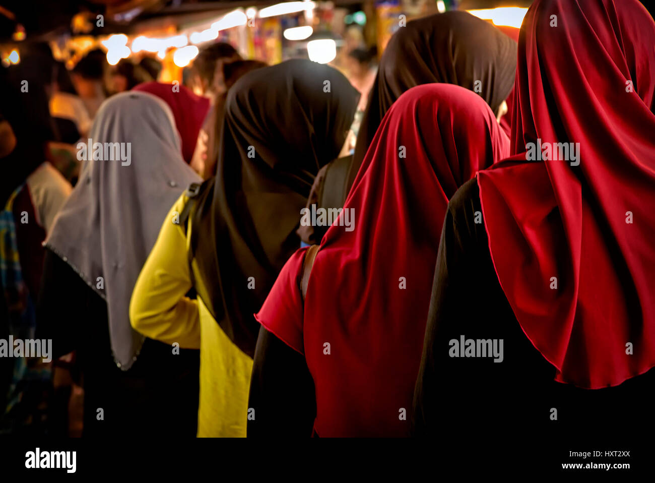 group-of-muslim-women-shopping-at-a-thai