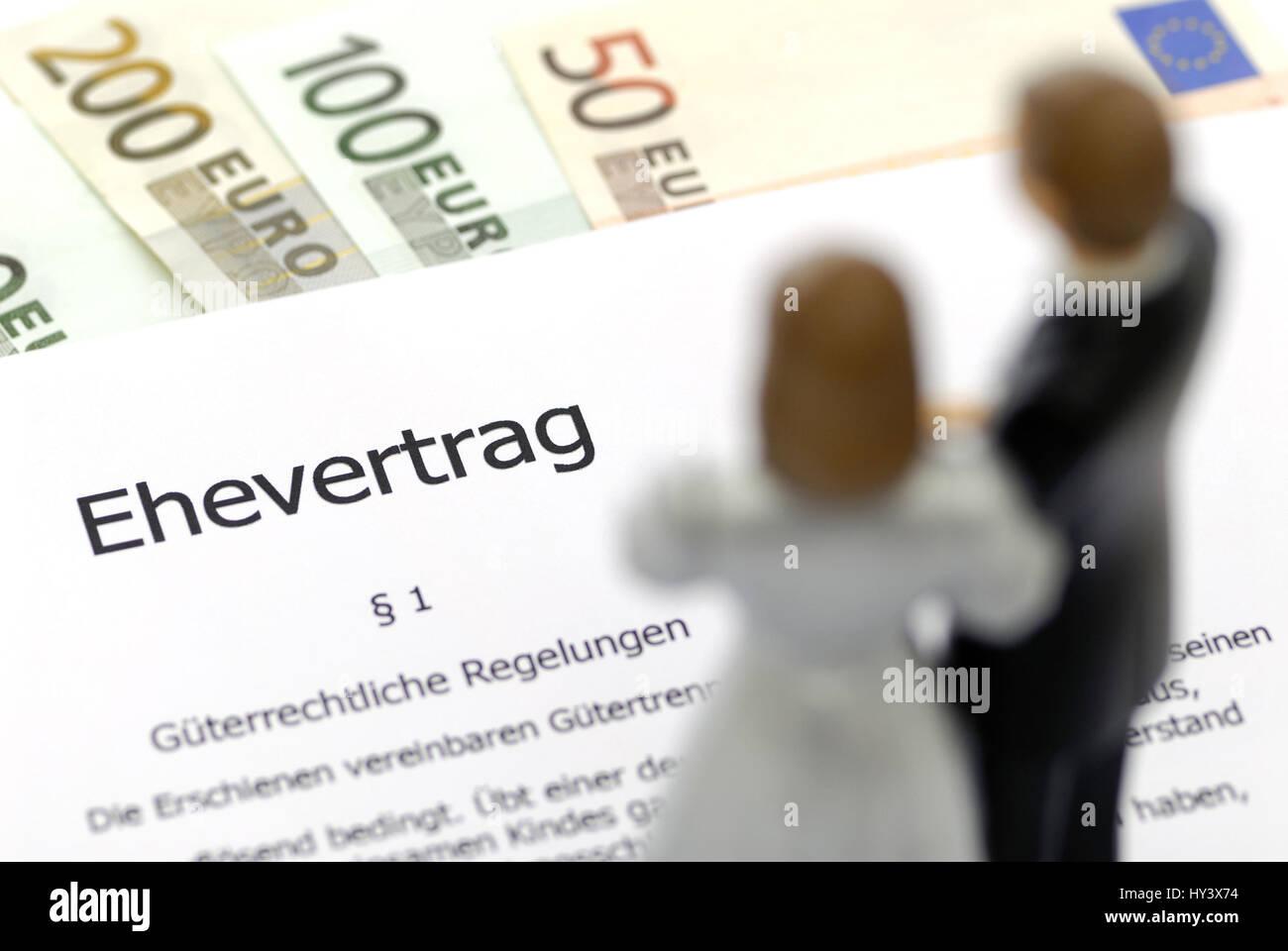 Marriage contract ehevertrag stock photo 137154728 alamy marriage contract ehevertrag thecheapjerseys Choice Image