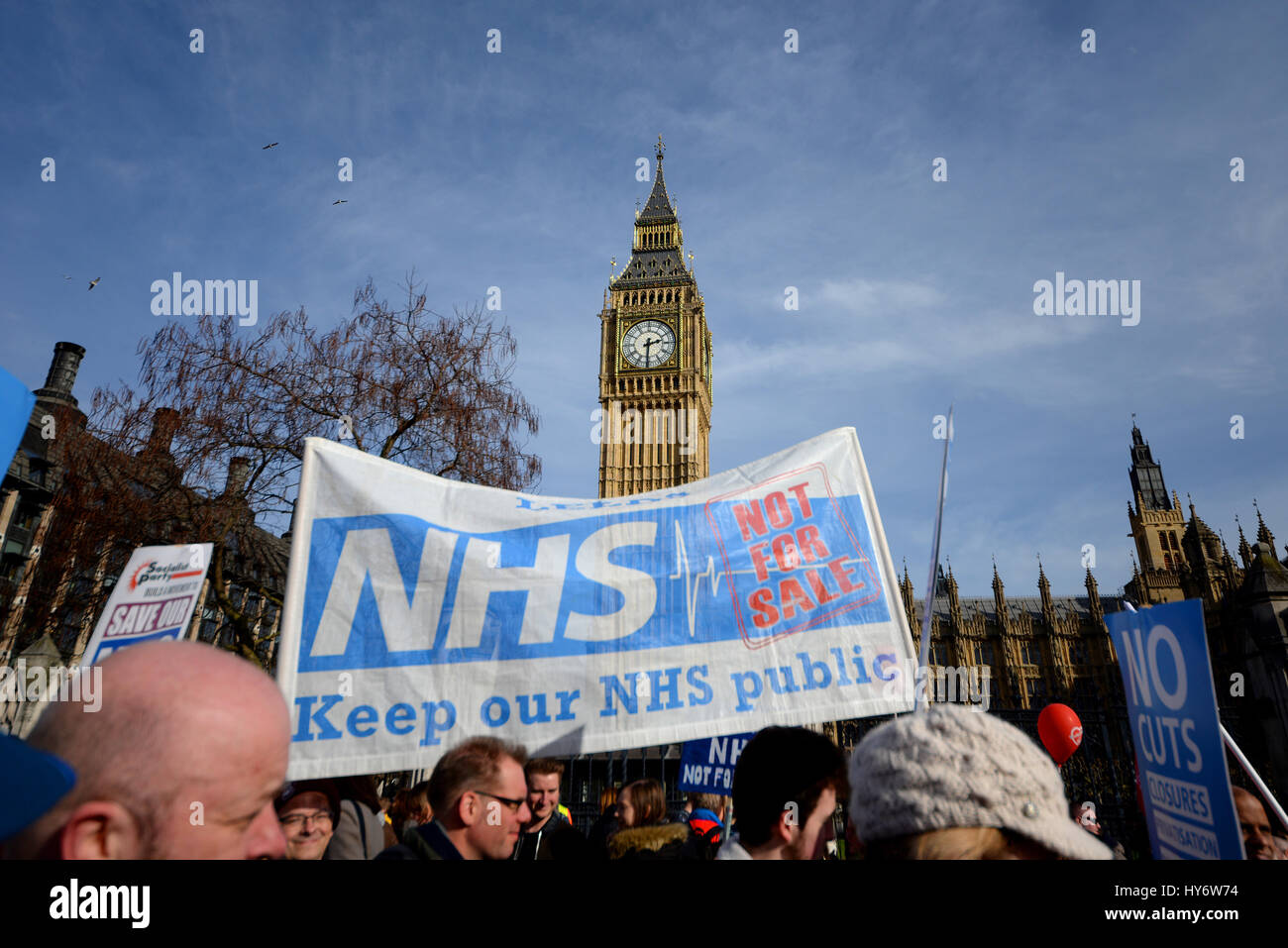 our-nhs-protest-march-in-london-passing-parliament-demonstrating-against-HY6W74.jpg