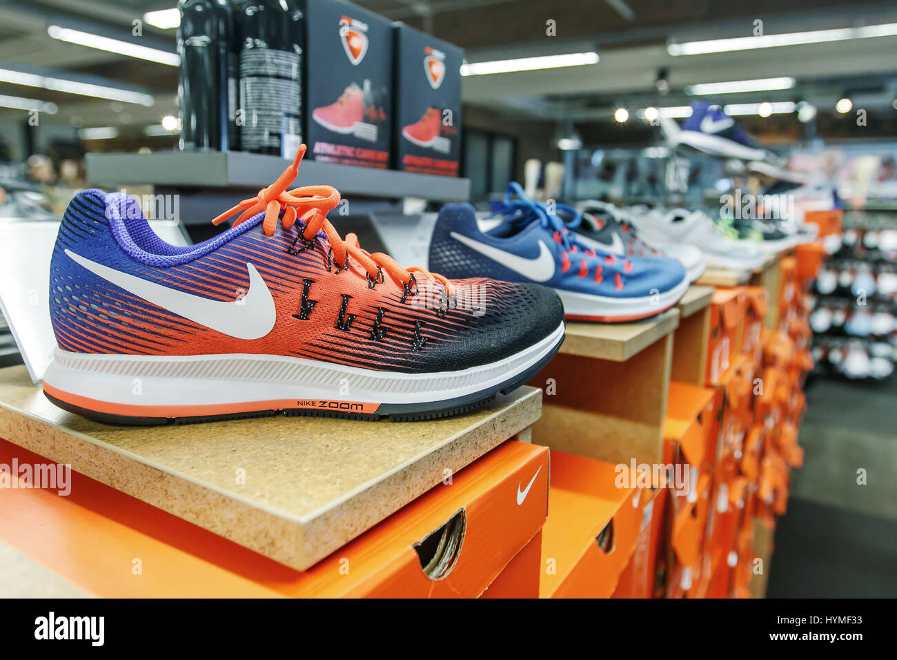 nike-shoes-are-set-on-display-in-a-shoe-