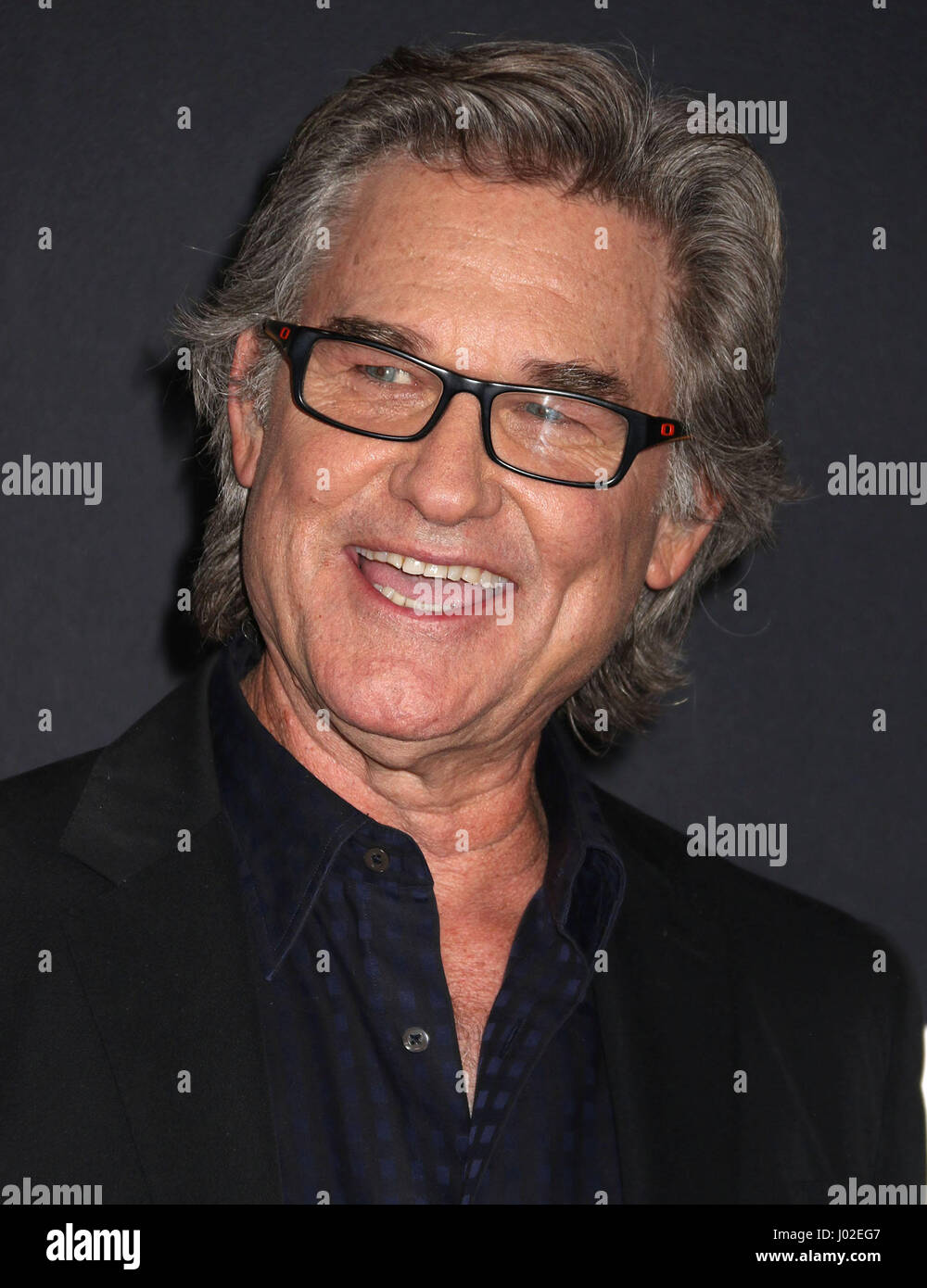 April 8, 2017 - New York, New York, U.S. - Actor KURT RUSSELL attends the New York Premiere of 'The Fate of - Stock Image