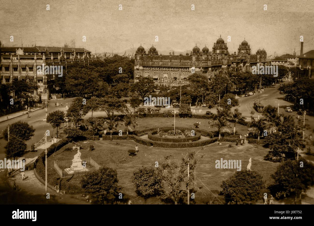 General post office and garden, Victoria terminal, mumbai Stock ...