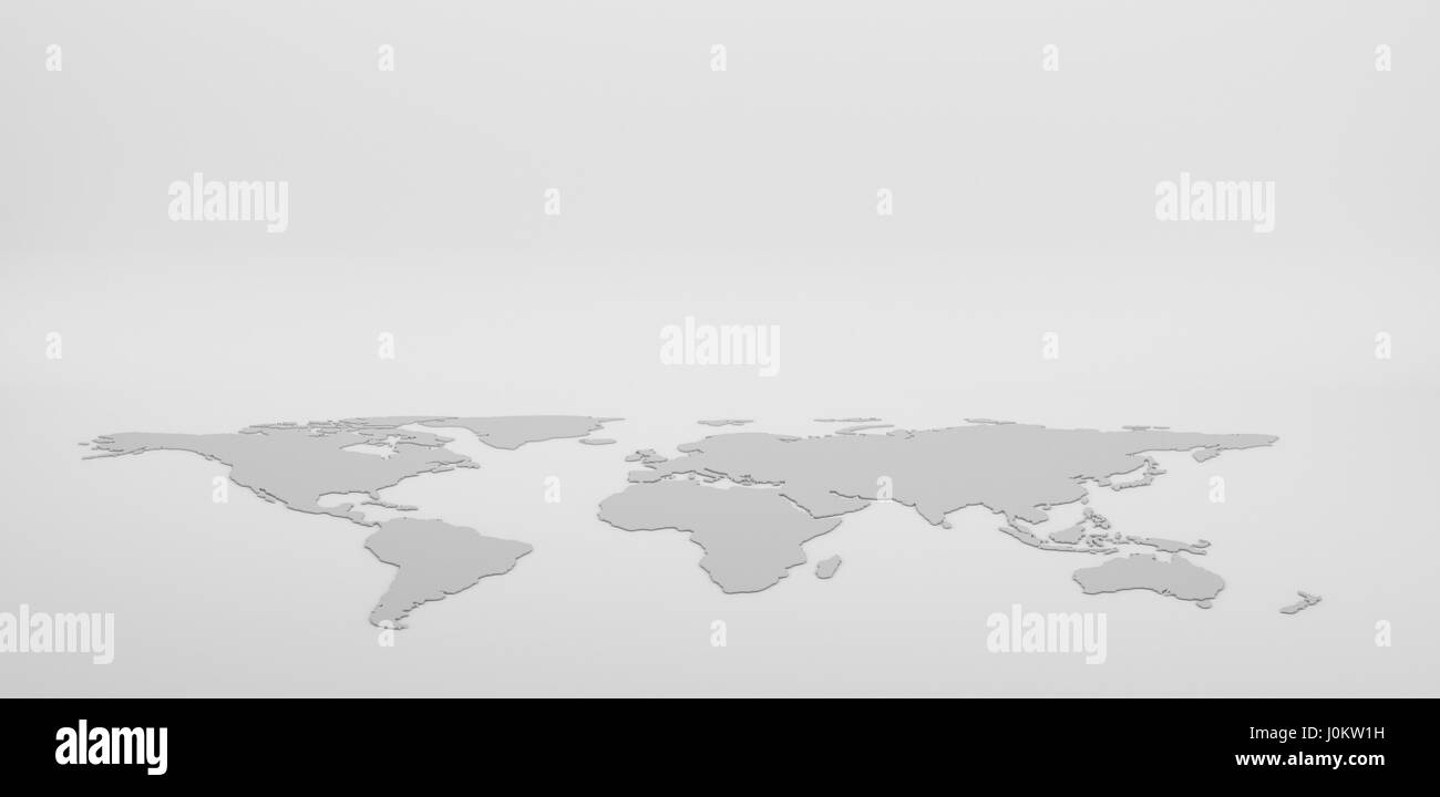 Blank grey world map isolated on white background infographics blank grey world map isolated on white background infographics illustration gumiabroncs Gallery