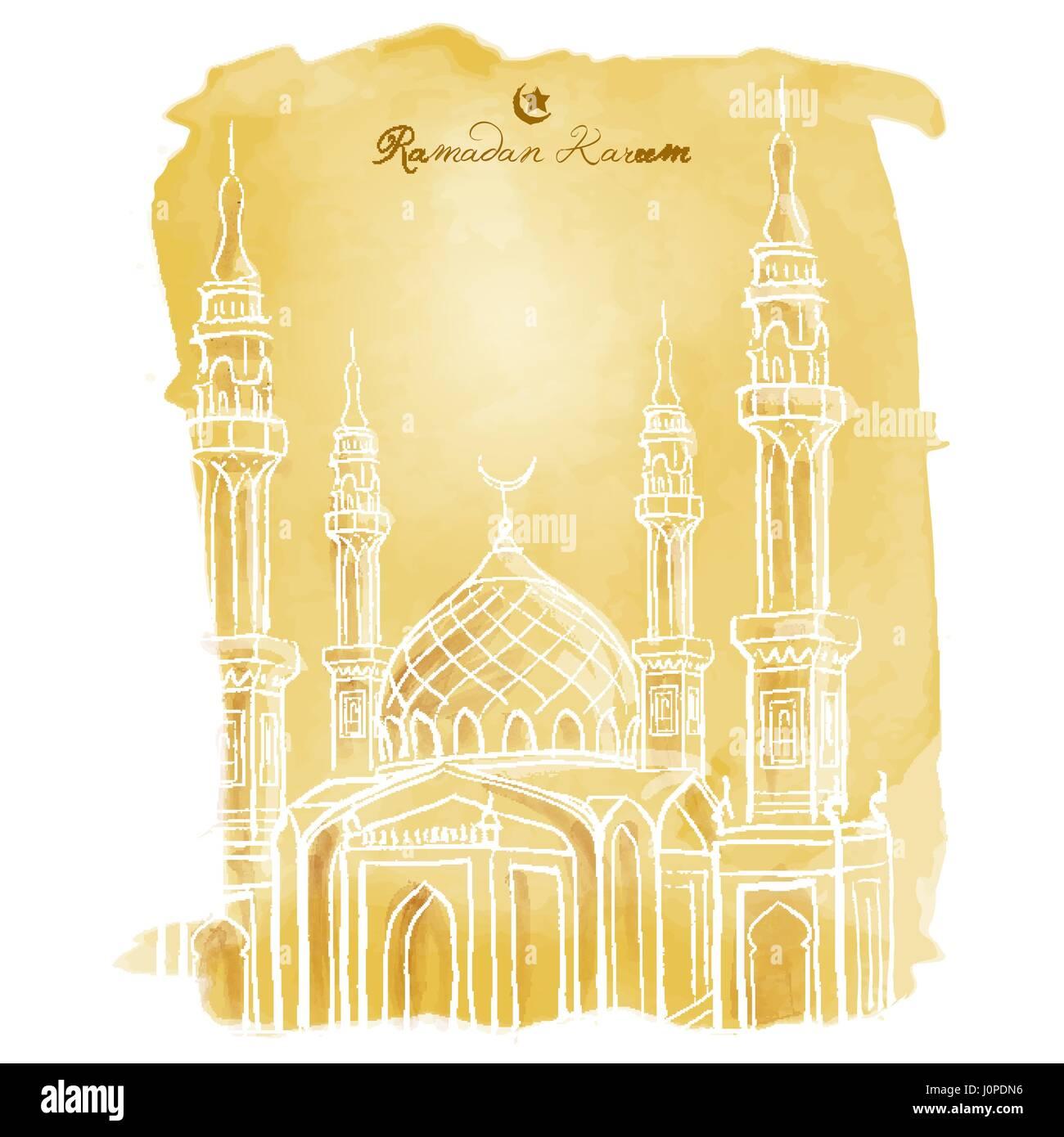 Ramadan kareem background islamic greeting template stock vector art ramadan kareem background islamic greeting template m4hsunfo