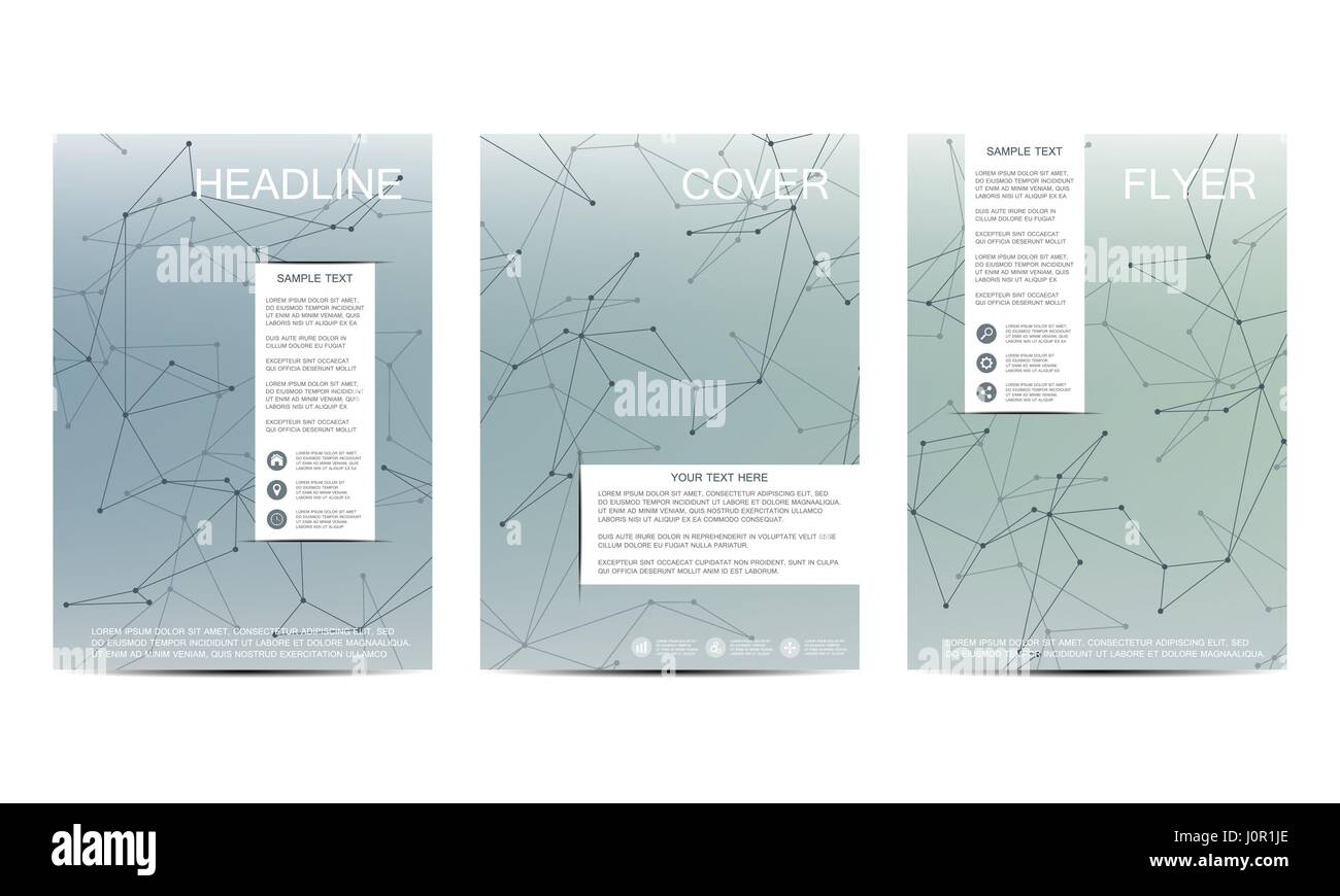 Brochure Template Layout Flyer Cover Annual Report Magazine In - A4 brochure template