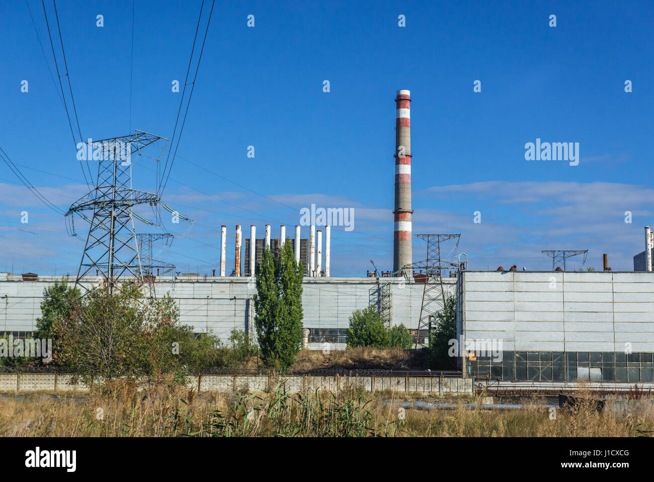 What is the exclusion zone 30-kilometer zone around the Chernobyl nuclear power plant 58