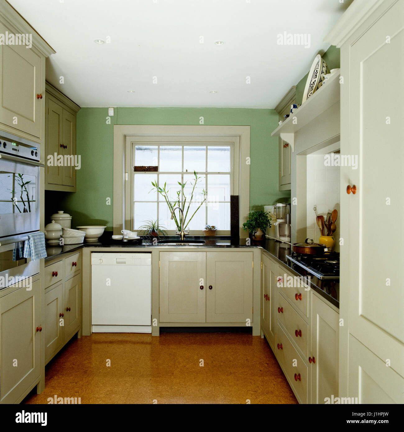 Simple Country Style Kitchen Stock Photo 138688561 Alamy
